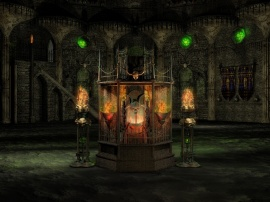 House of Zoltar Shrine