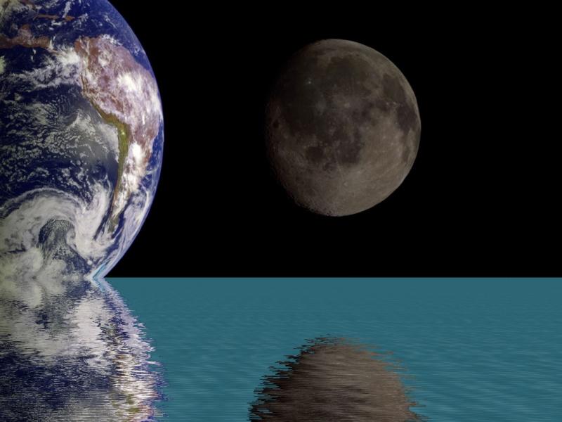EarthMoonReflection
