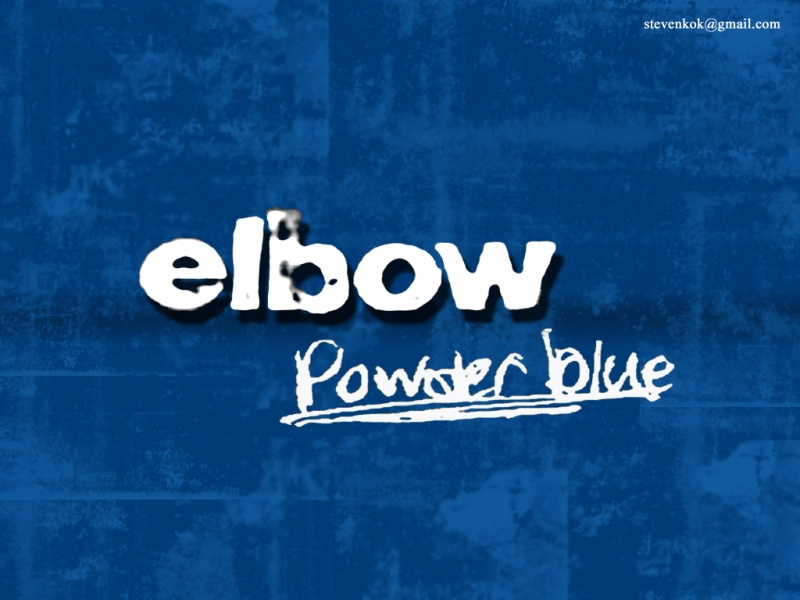 Elbow - Powder blue