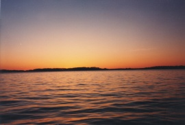 1000 Island Sunset