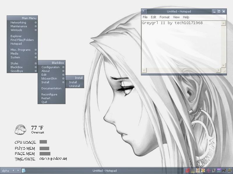Greygrl 2 (for BBlean 1.16)