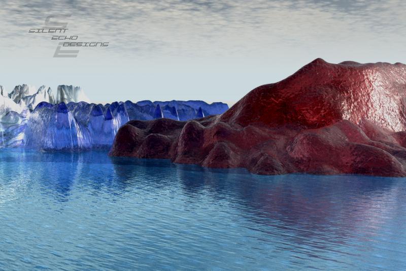 Patriotic Iceberg