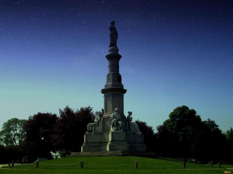 Evening in Gettysburg