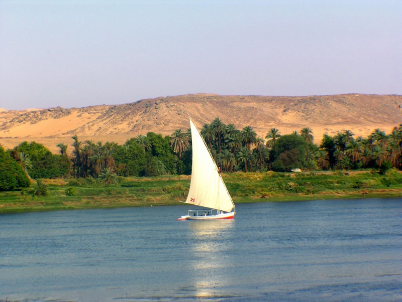 Ship on Nile