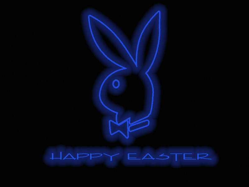 Playboy Easter in Neon
