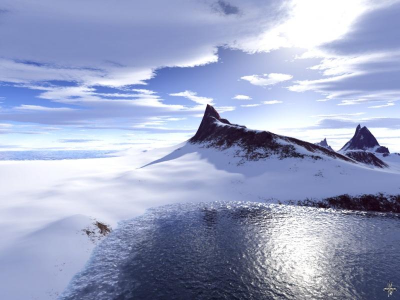 Snow an atol
