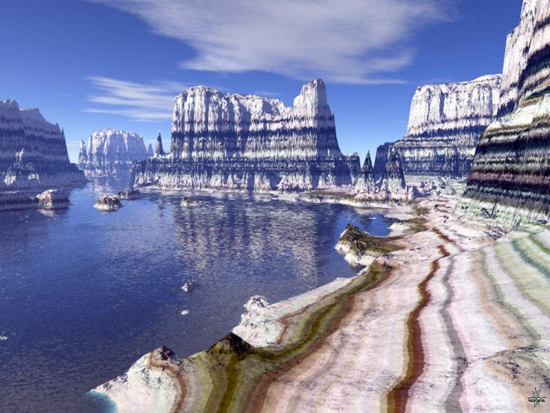 Mistic landscape