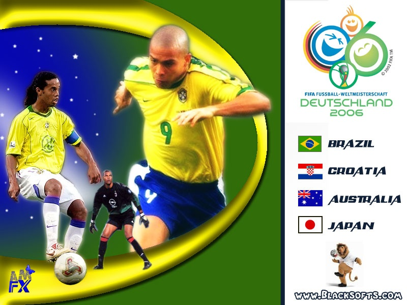 Brazil World Cup 2006 Ger