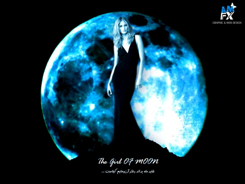 The Girl Of Moon !