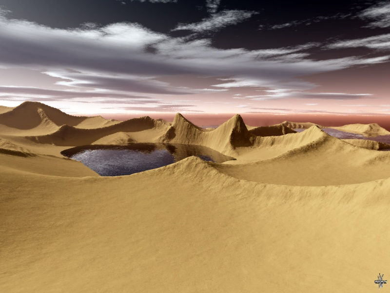 Water in desert