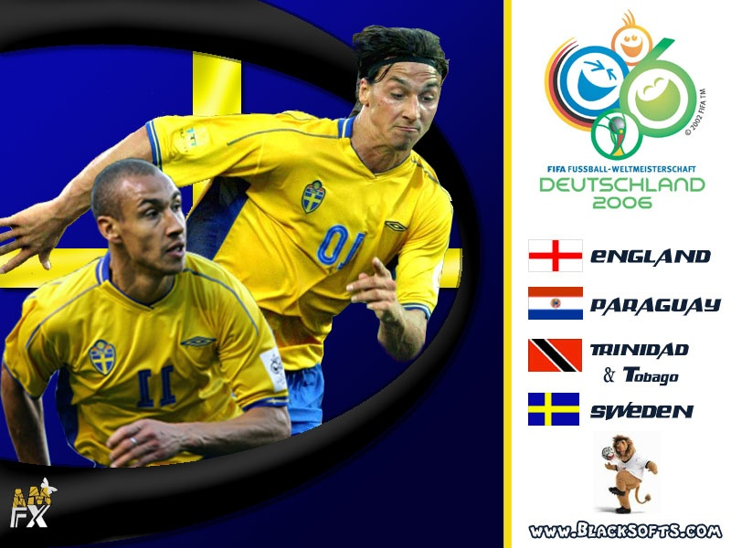 Sweden In WOrld Cup 2006