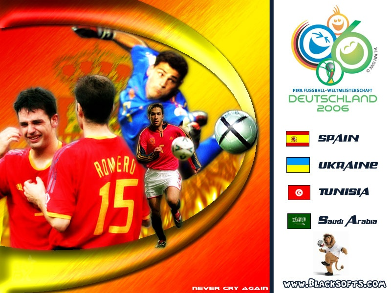 Spain In World Cup 2006 Germany