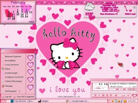 Hello Kitty Valentine 2K6