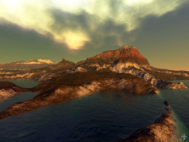 Insel in mare