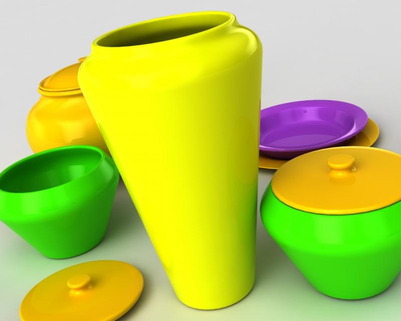 Ceramic HDRI