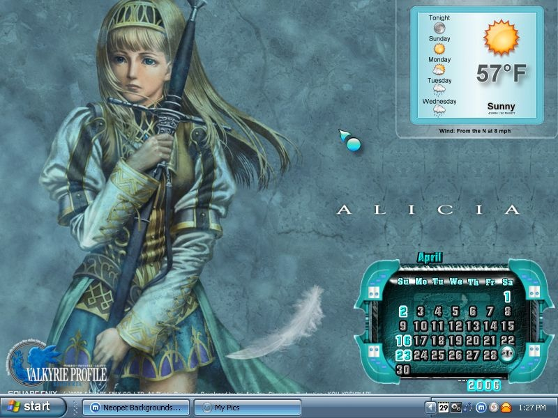 Valkyrie Profile - Alicia.