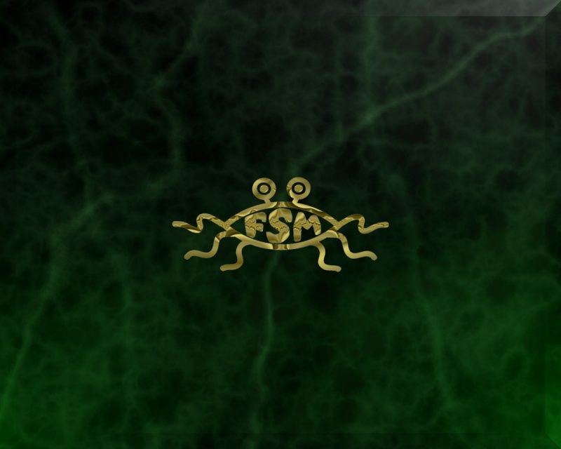 The golden FSM on green