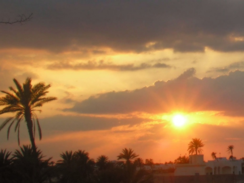 Sunset - Djerba - 002