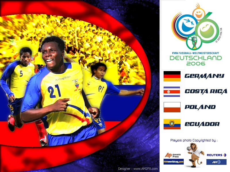 Ecuador Team World Cup 2006