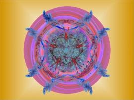 Multi Fractal Spiral