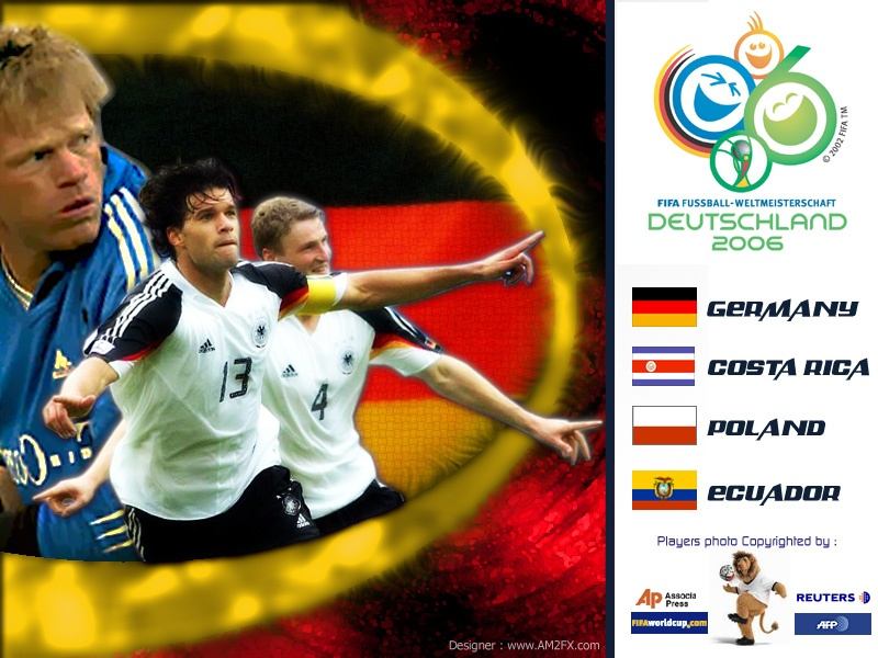 Germany Team In Wold Cup 2006