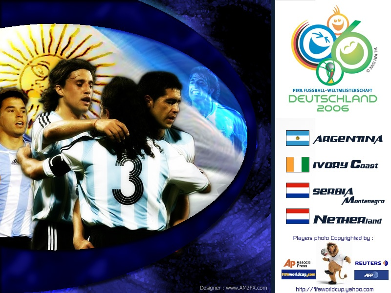 Argentina TEam world Cup 2006