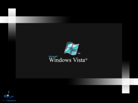 Microsoft windows vista wall