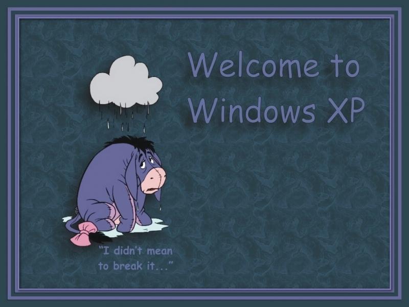 Eeyore Welcome 2