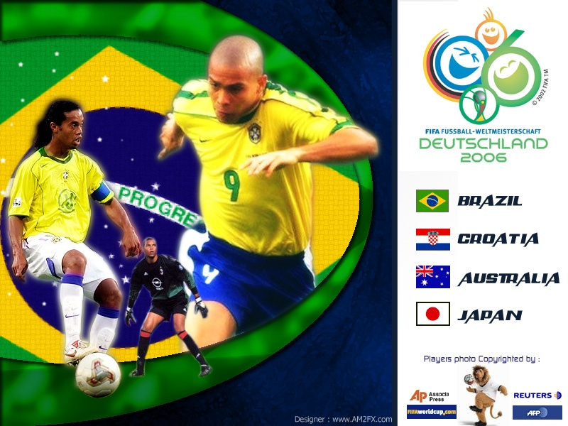 Brazil TEam World cup 2006