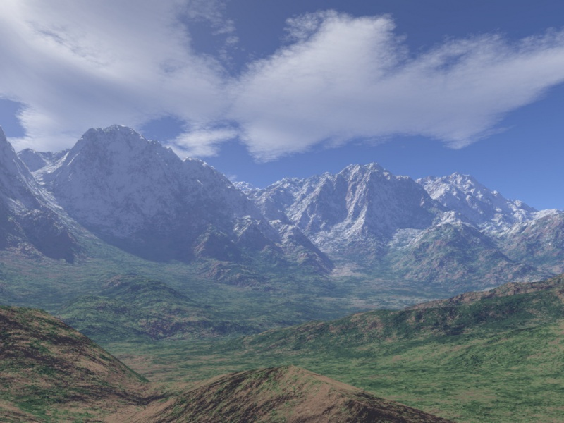 The Far Blue Mountains