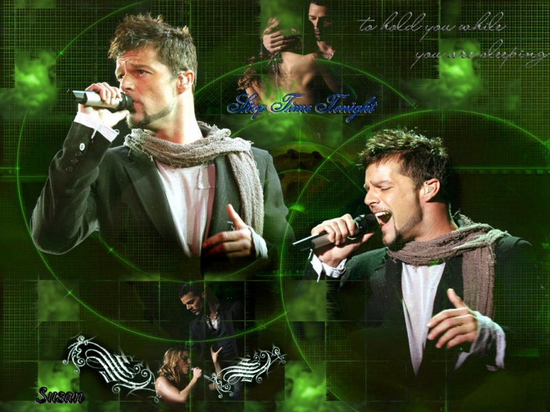 Stop Time Tonight.....RICKY MARTIN