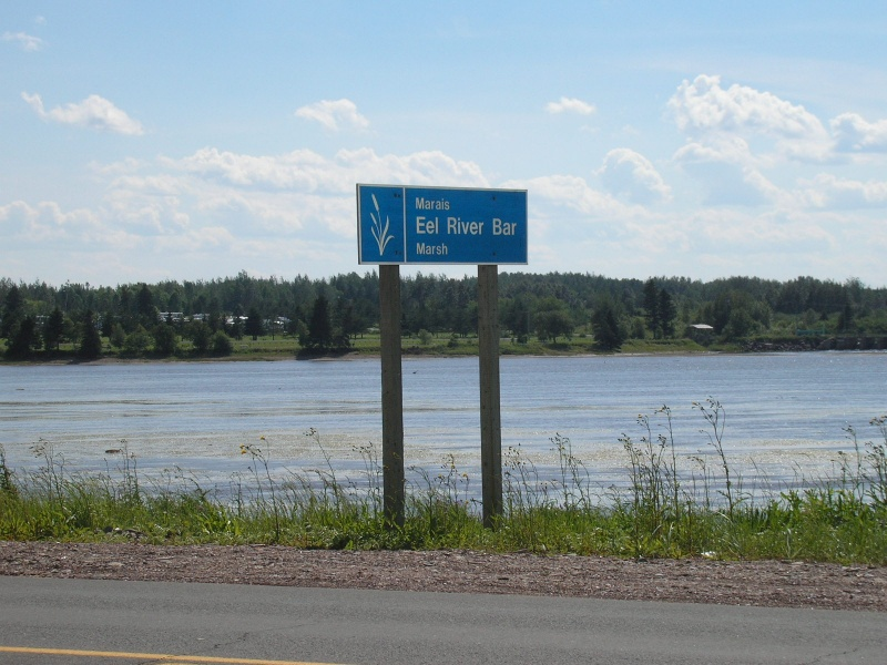 Eel river NB