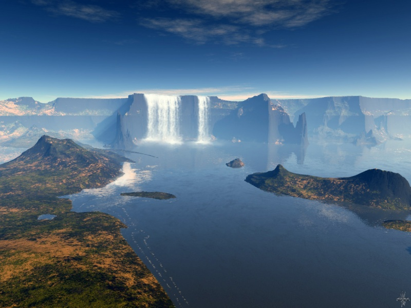 Waterfall Murena