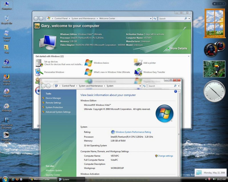 Vista Ultimate 5365