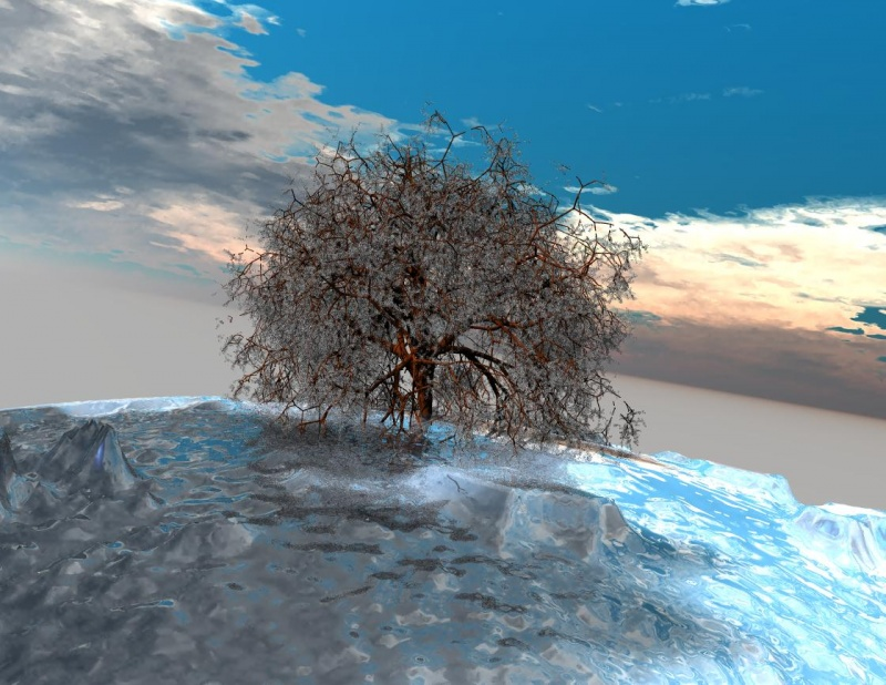tree on iceplanet