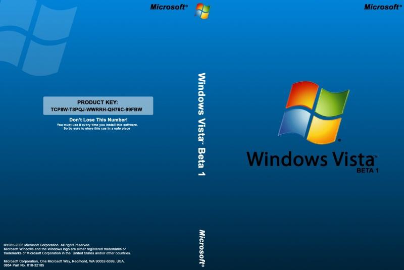 Vista Beta 1