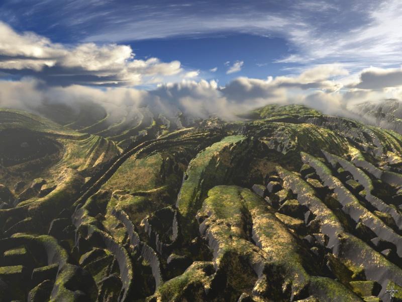 Fosil landscape