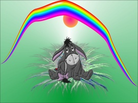 Eeyores Rainbow Day