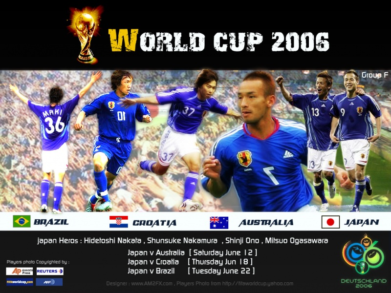 Japan Team - World Cup 2006
