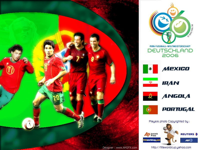Portugal In World Cup 2006