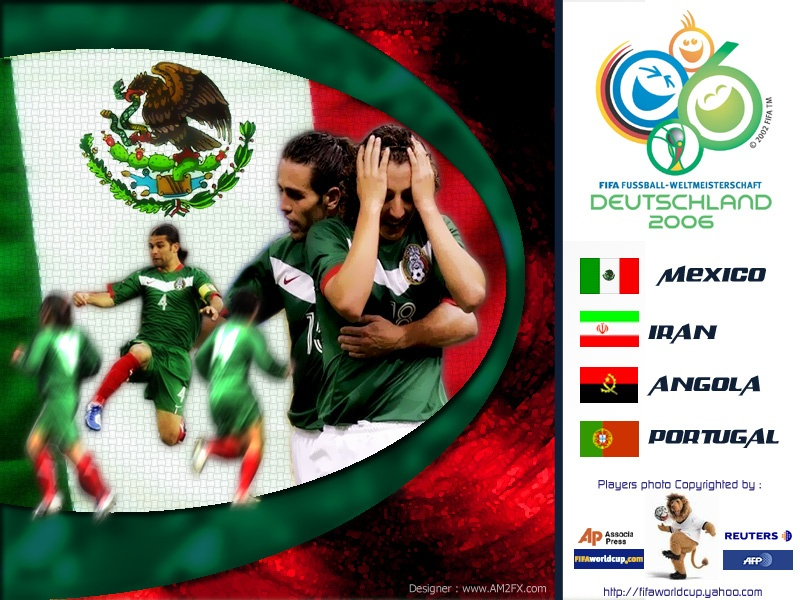 Mexico Team World Cup 2006