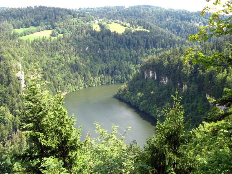 River in Jura - France