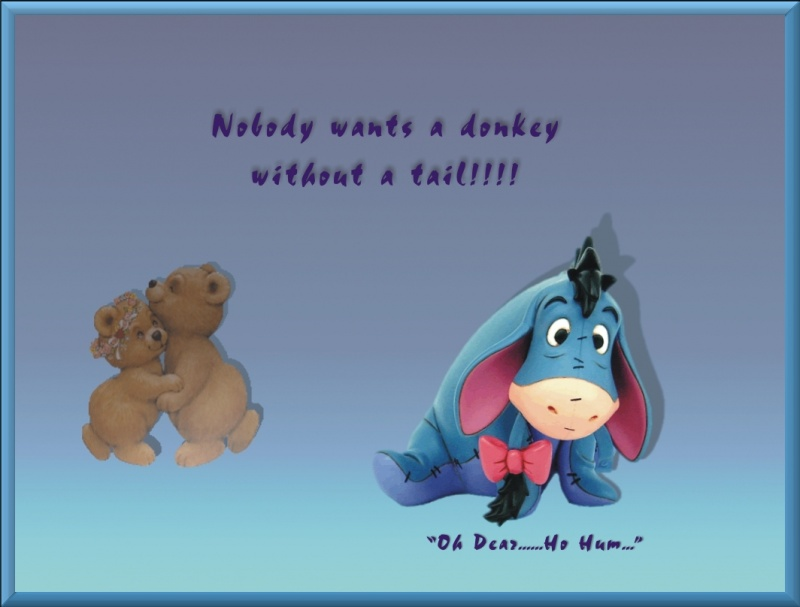 Eeyore and the Bears