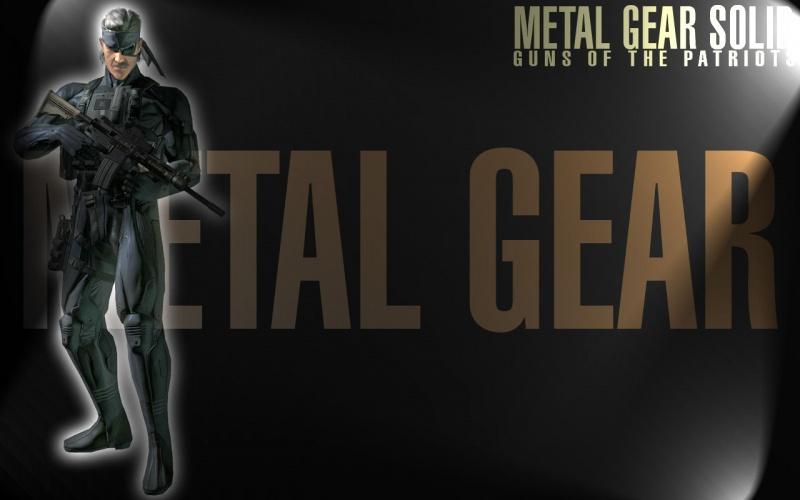 Metal Gear Solid 4 (MGS MGS2 MGS3 MGS4)