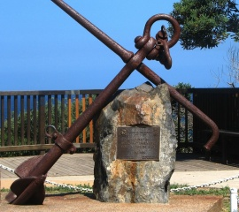 Anchor at Norah Head Lighthouse