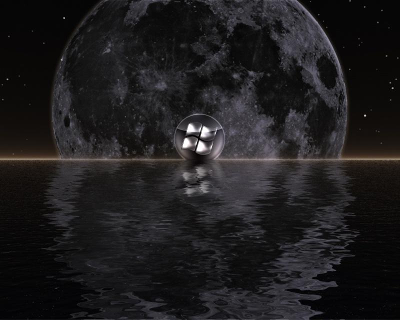 Lunar wind
