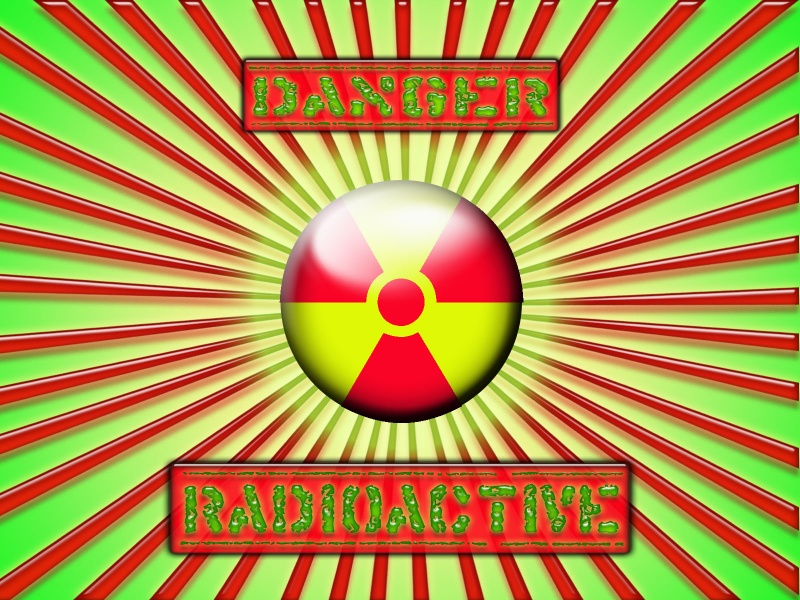 danger radioactive