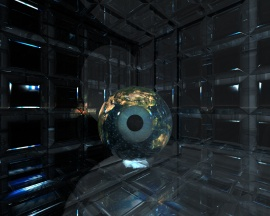 Earth Eye in a Glass Room