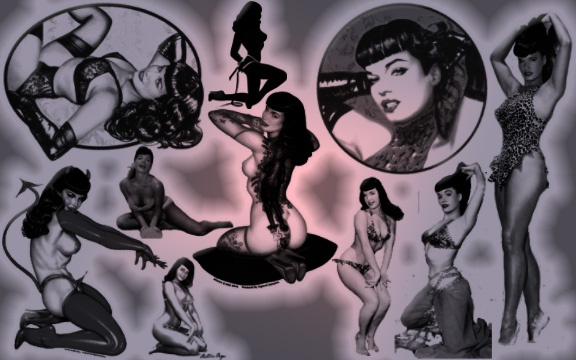 collage of bettie