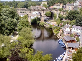 River Nidd in Knaresborough, North Yorkshire